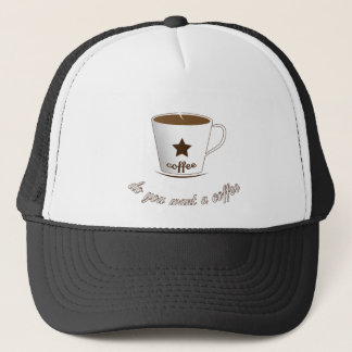 Do you want a coffee trucker hat
