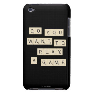 Do You Want To Play A Game iPod Touch Cover