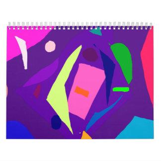 Do Your Best as a Human Being Purple Daylight Calendars