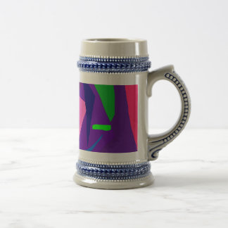 Do Your Best as a Human Being Purple Daylight Coffee Mug