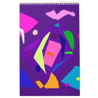 Do Your Best as a Human Being Purple Daylight Wall Calendars
