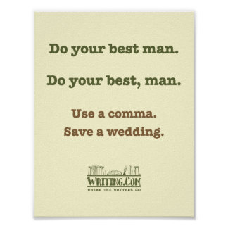 Do your best man print