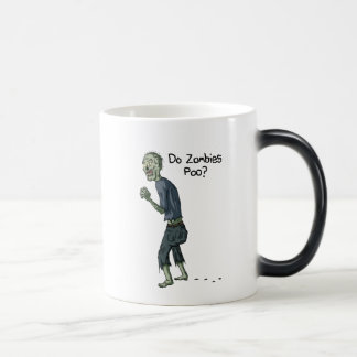 Do Zombies Poo Mug