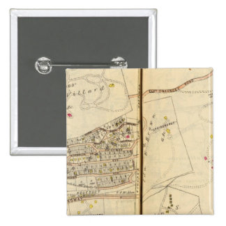 Dobbs Ferry, New York 15 Cm Square Badge