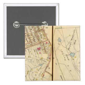 Dobbs Ferry, New York 3 15 Cm Square Badge