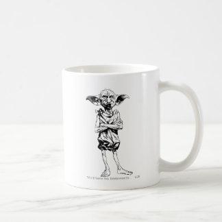 Dobby 3 basic white mug