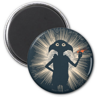 Dobby Casting Magic 6 Cm Round Magnet