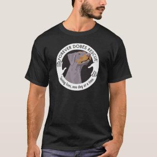 dobe-fawn2-uncropped-ear-logo-8-29-11 T-Shirt