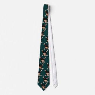 Dobe-n-Crossbones Tie