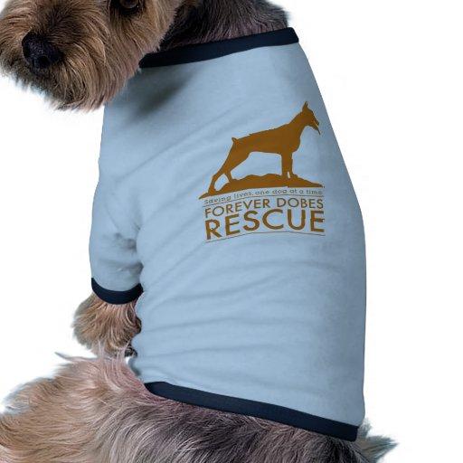 dobe-orange-graphic dog clothing