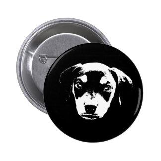 Dobe Pup -bw Button