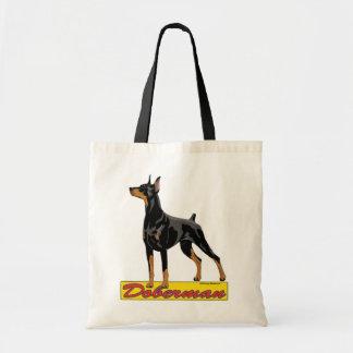 Doberman- black bags