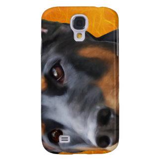 Doberman Close Up Galaxy S4 Cases