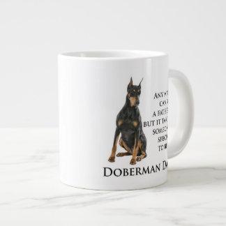 Doberman Dad Jumbo Mug