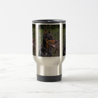 Doberman Glee! Travel Mug