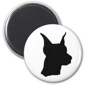 Doberman Head Magnent Magnet