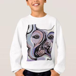 Doberman in Denim Colors Sweatshirt