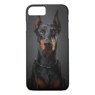 Doberman iPhone 7, Barely There iPhone 8/7 Case