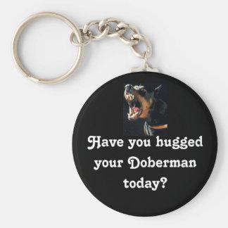 Doberman Keychain