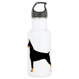 doberman pinscher 532 ml water bottle