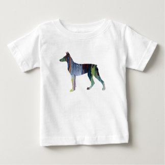 Doberman Pinscher Art Baby T-Shirt