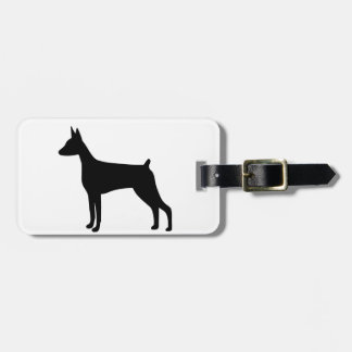 Doberman Pinscher Dog Luggage Tag