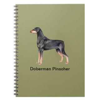 Doberman Pinscher Dog Notebook