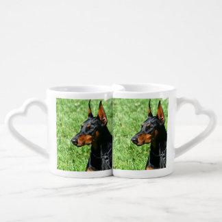 Doberman Pinscher dog Lovers Mugs