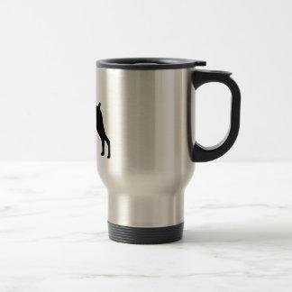 Doberman Pinscher Dog Travel Mug
