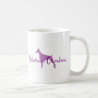 Doberman Pinscher Grandma Coffee Mug