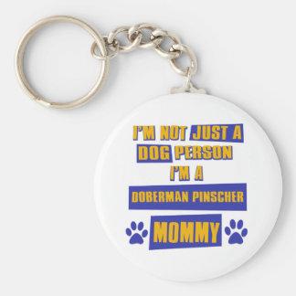 Doberman Pinscher Mommy Key Ring