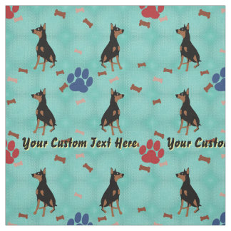 Doberman Pinscher - Personalized Fabric