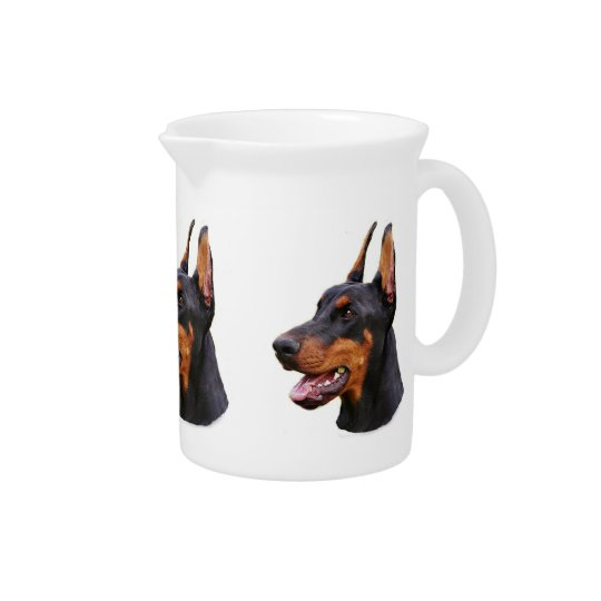Doberman Pinscher Pitcher