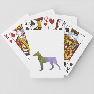 Doberman Pinscher Playing Cards
