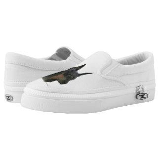 Doberman Pinscher Slip-On Shoes