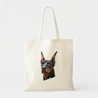 Doberman Pride Budget Tote Bag