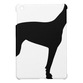 Doberman Silhouette iPad Mini Covers