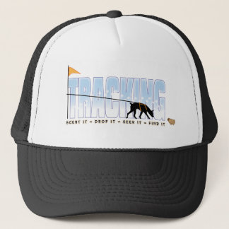 Doberman Tracking Trucker Hat