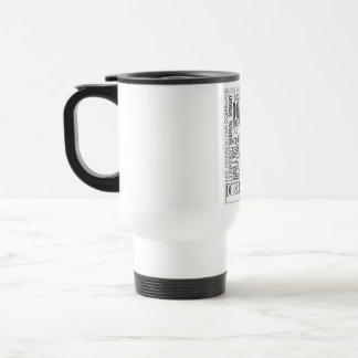 Doberman Word Mug