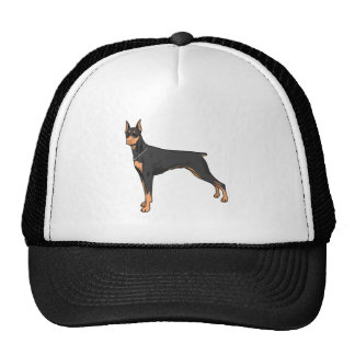 Dobermann doberman trucker hats