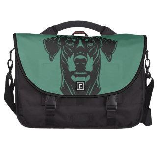 Dobermann Portrait Computer Bag