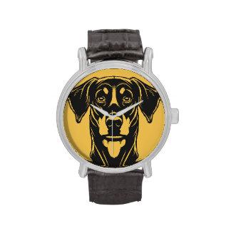 Dobermann Portrait Wristwatches