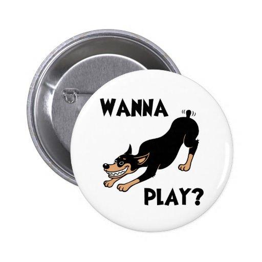 Dobie - Play Buttons
