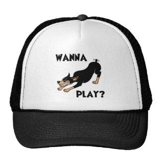 Dobie - Play Mesh Hats