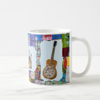 DOBRO-BLUEGRASS BAND-QUILTED COFFEE MUG