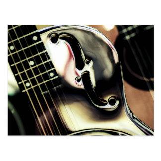 DOBRO, guitar ArT, Postcard Cool