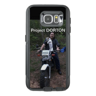 Doby on a bike OtterBox samsung galaxy s6 case