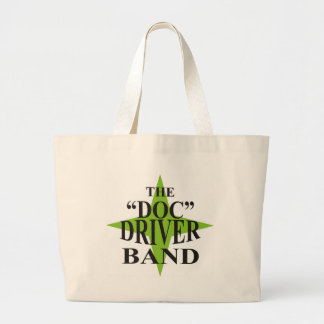 Doc Driver logo Jumbo Tote Bag