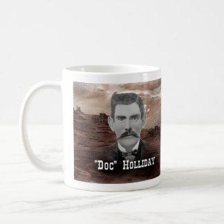 """""""Doc"""" Holliday Basic White Mug"""