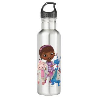 Doc McStuffins   Best Medic Buddies 710 Ml Water Bottle